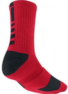 Nike Elite Men's Cushioned Crew Sock Dri-Fit Basketball